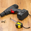 Electric screwdriver - Stock Photo