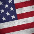 American vintage flag — Stock Photo