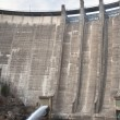 Dam draining water — Foto de Stock