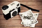 Antique camera — Stock Photo