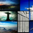 Travelling to Brazil — Stock Photo