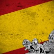 Spanish vintage flag — Stock Photo