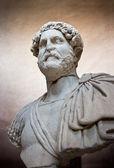Ancient sculpture of a Roman — Stock Photo