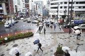Rainy Tokyo — Foto de Stock