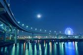 Tokyo night roads — Stock Photo