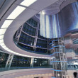 Futuristic hall interior — Stock Photo
