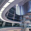 Futuristic hall interior — Stock Photo