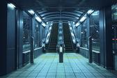 Escalators hall — Stock Photo