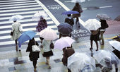 Rainy street — Stock Photo