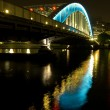 Night bridge — Stock Photo #8882419