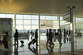 Barcelona airport — Stock Photo