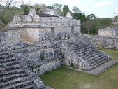 Ruins at Ek Balam — Foto de Stock