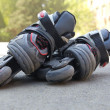 Kid inline rollerblades — Stock Photo #10556467