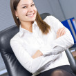 Young businesswoman — Stock Photo #8643847