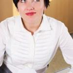 Beautifull businesswoman — Stock Photo #8781647