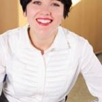 Beautifull businesswoman — Stock Photo #8781653