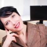 Beautifull businesswoman — Stock Photo #8781662