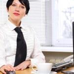 Beautifull businesswoman — Stock Photo #8781703
