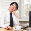 Stock Photo: Beautifull businesswoman