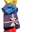 Gift box present - Stock Photo