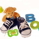 Baby boy stuffs — Stock Photo #8874982