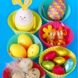 Colorful easter decoration — Stockfoto