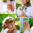 Royalty-Free Stock Photo: Collage with the first holy communion