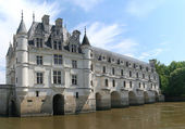 The Chateau de Chenonceau — Foto de Stock