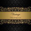 Vintage vector background - Stock Vector