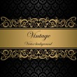 Vintage vector background — ストックベクター #9714399