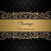Vintage vector background — Stok Vektör