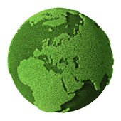 Grass Globe - Europe — Stock Photo