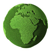 Grass Globe - Africa — Stock Photo