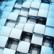 3d Cubes - Stock Photo