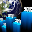 Business Concept 2012 — Stock Photo