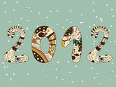 New year — Stock Vector