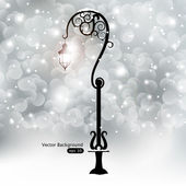 Street lantern — Stock Vector