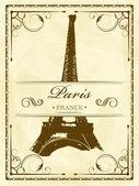 Vintage Paris — Stock Vector
