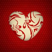 Abstraktní srdce — Stock vektor