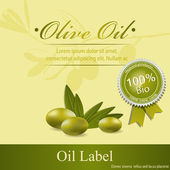 Olive oil — Vetorial Stock