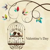 Cage à oiseaux — Vecteur