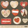 Royalty-Free Stock Imagen vectorial: St Valentine