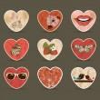 St Valentine's day — Stock Vector
