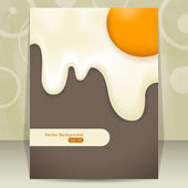 Design do cartaz — Vetorial Stock
