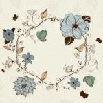 Floral frame — Stock Vector #9475284