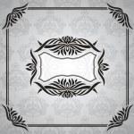 Floral vintage frame — Stock Vector #9824671