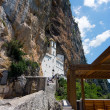 Monastery of Ostrog in Montenegro - Stock Photo