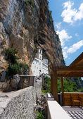 Monastery of Ostrog in Montenegro — Stock Photo