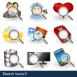 Search icons 2 — Stock Vector