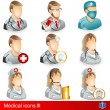 Stock Vector: Medical icons 3